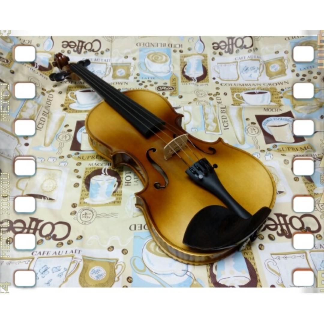 Praise Violin 4/4(T056)全新實木手工小提琴