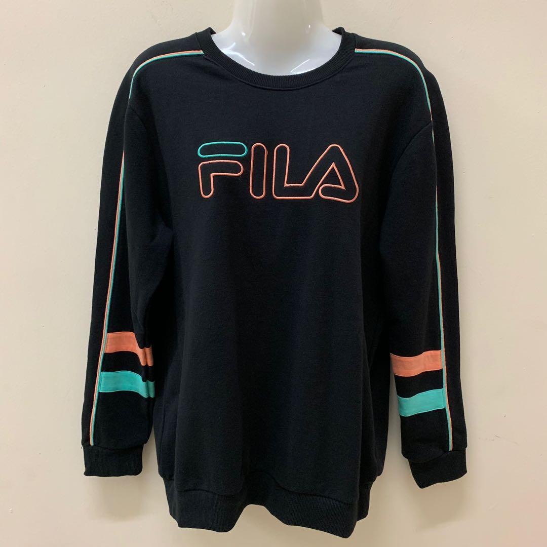 Preloved FILA Sweatshirt Stripe Crew