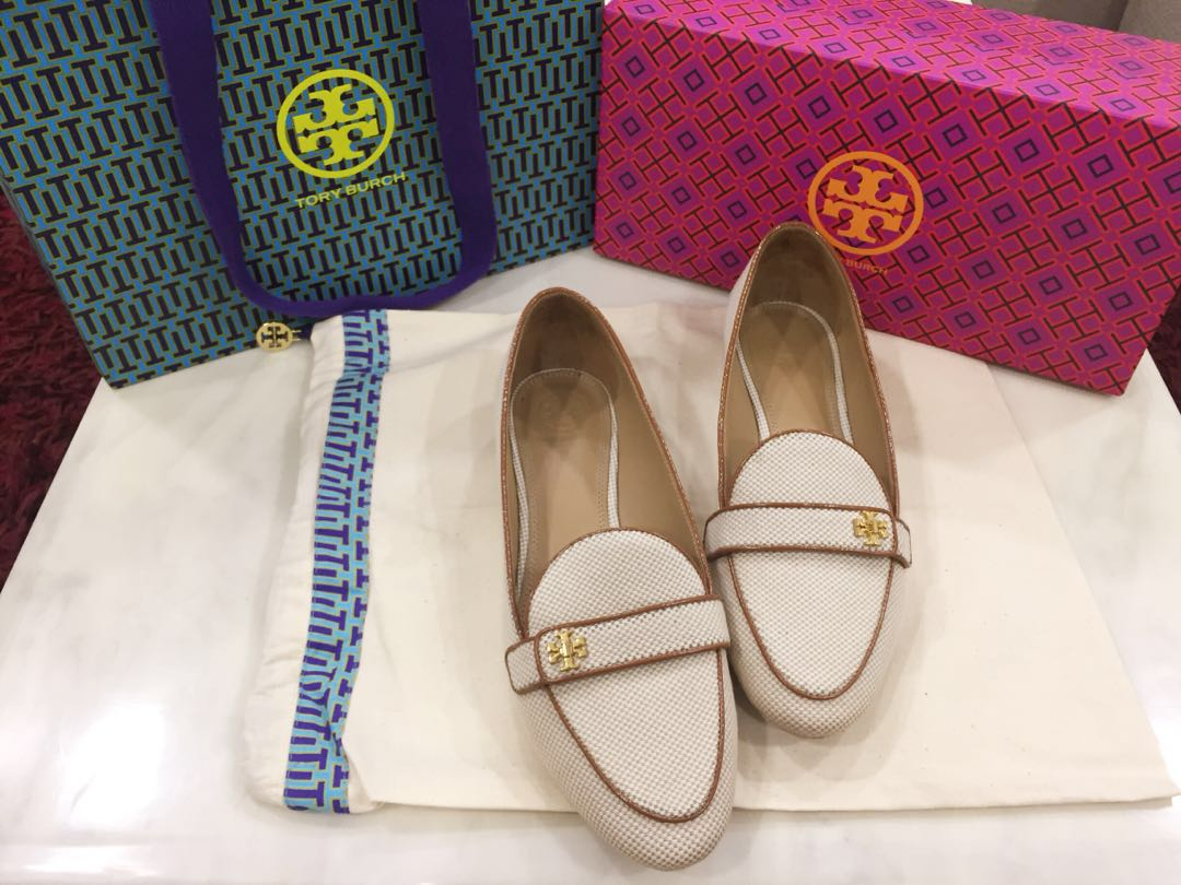 2740ff404015 PRICE REDUCED Authentic Tory Burch Kira Loafer in Perfect Sand ...