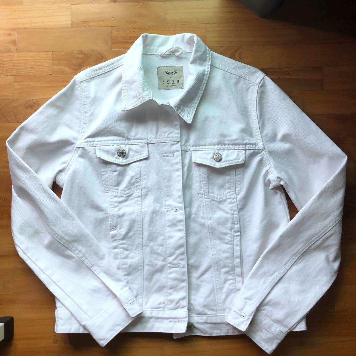 Primark White Denim Jacket