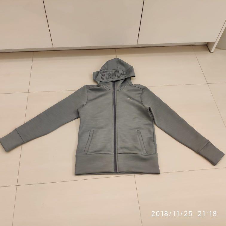 5a1896dd0272 PUMA Holiday Future Hooded Jacket M Medium Gray Heather (Women ...