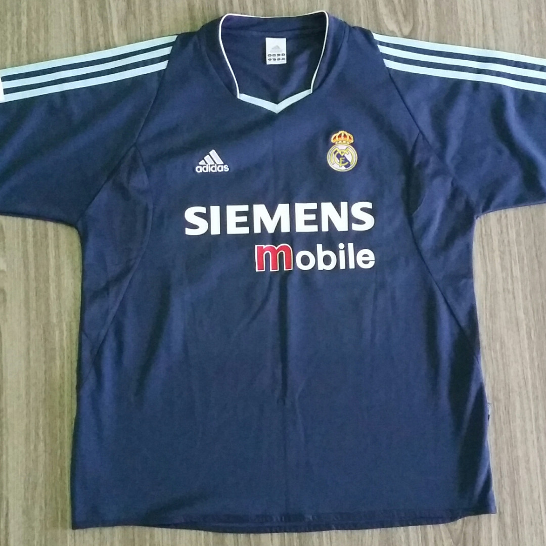 06cb19339 Real Madrid Adidas 2003-04 Away Jersey XXL 2XL Vintage Retro
