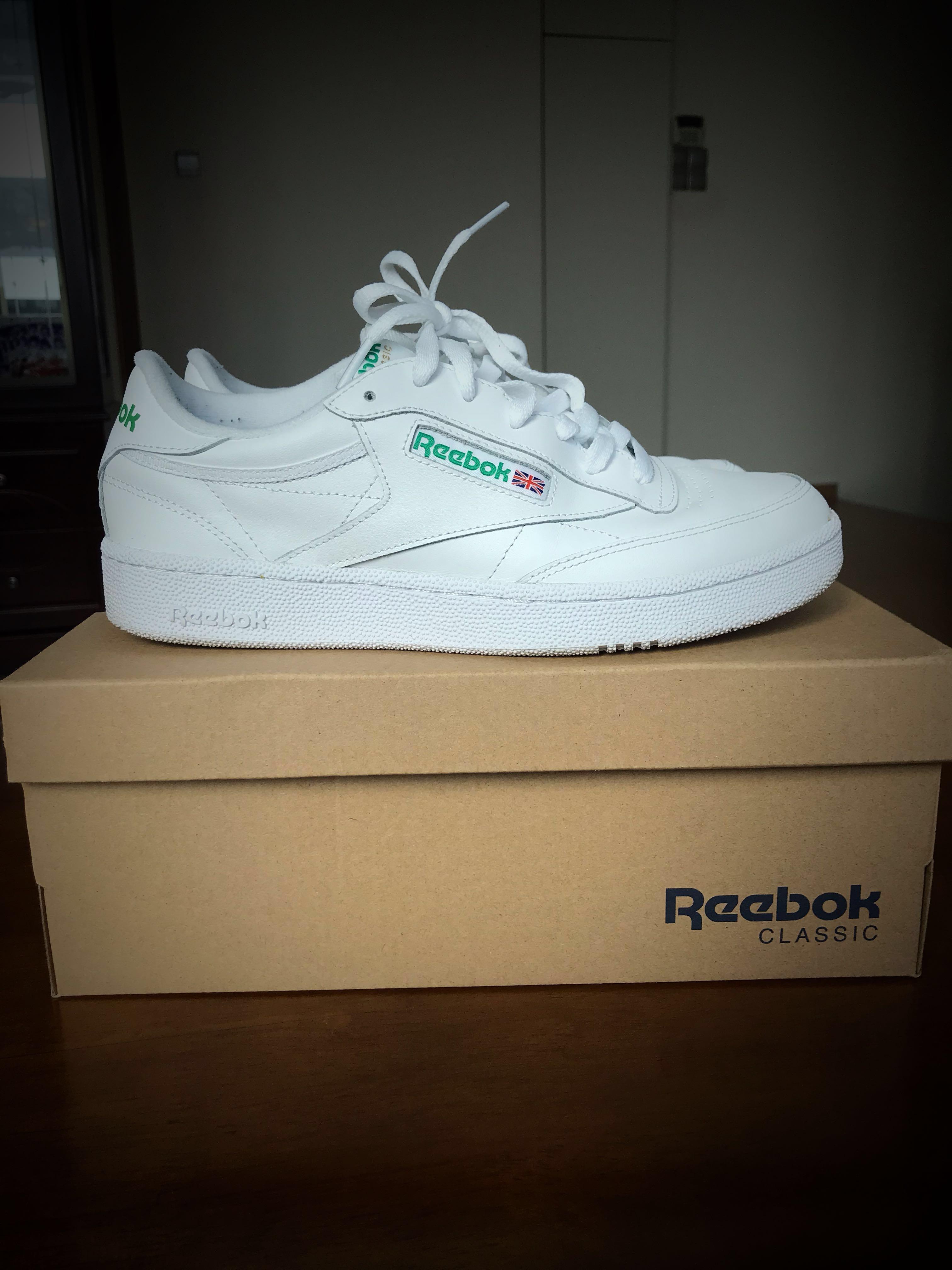 77214dbdca2e5 Reebok classic club c 85 white us 8