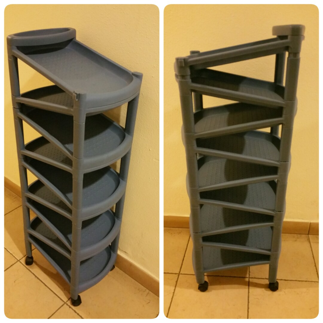 Shoe Rack With Wheels 1 Piece Only