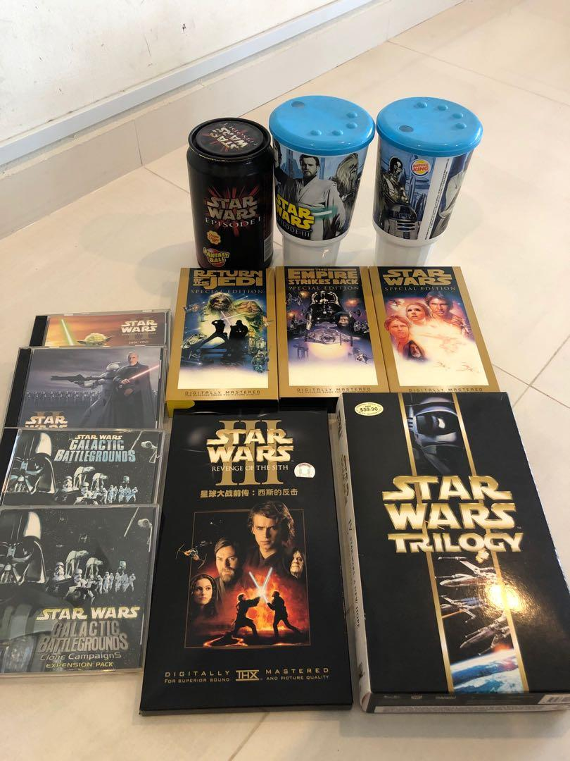 Starwars Collection Toys Games Others On Carousell