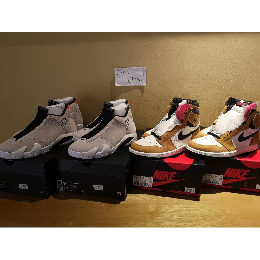 low priced d2556 354f1 UNDER MARKET PRICE - Air Jordan 1 Rookie of The Year