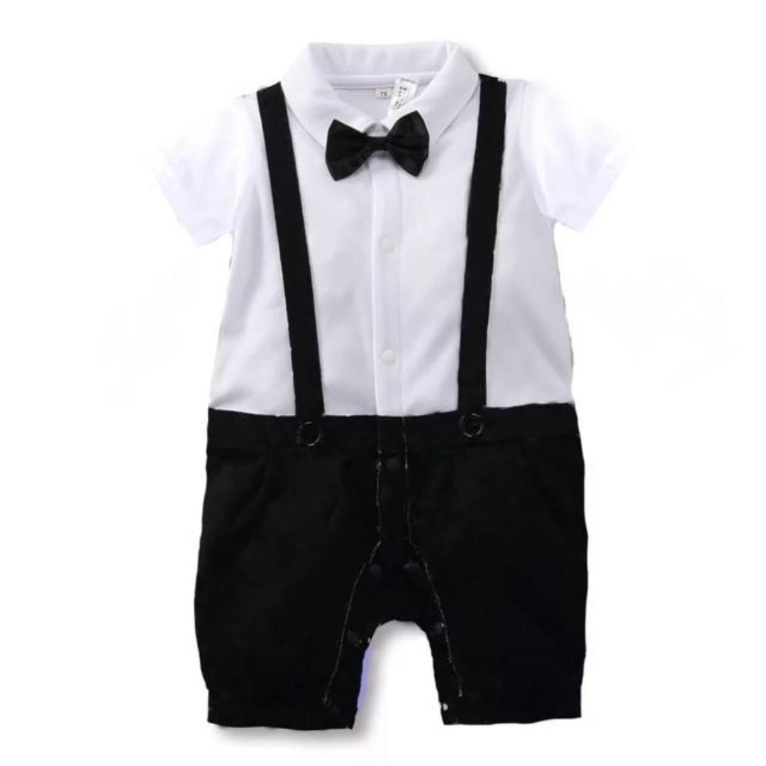 c7e3b1345 Vintage Suspender Romper Suit (Classic)