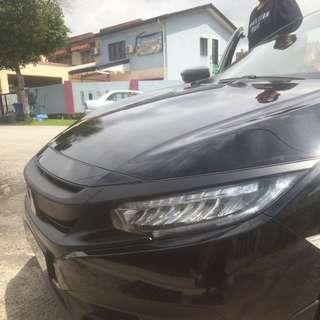 Full Car Wrap Matte Black Grill