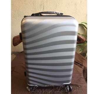 Silver stripe Luggage