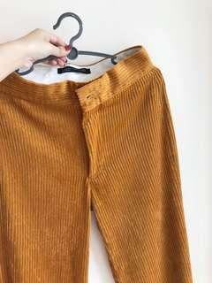BN Zara Tan Curdoroy trousers