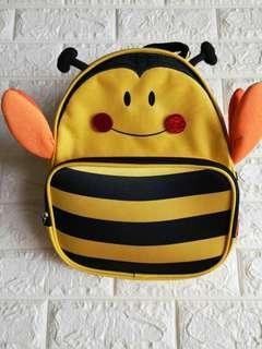 Lightweight cute bee outdoor bag for toddler