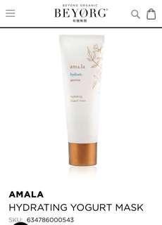 Beyorg organic Amala jasmine hydrating mask 6ml