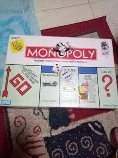 Original Monopoly board game