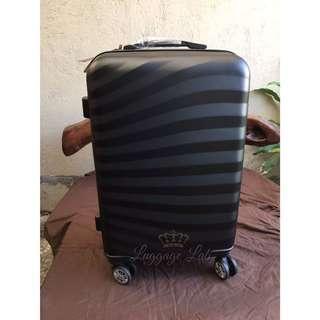 Black Stripe Medium Luggage