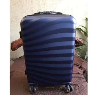 Navy Blue Medium Luggage