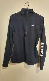 Nike long sleeve half zip up (medium)