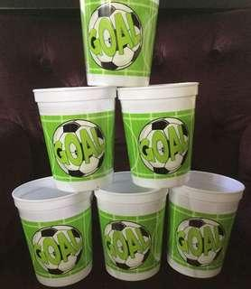 New soccer goal party keepsake cup