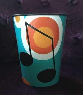 Music note keepsake party cup