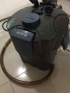Canister filter eksternal Boyu normal murah mulus