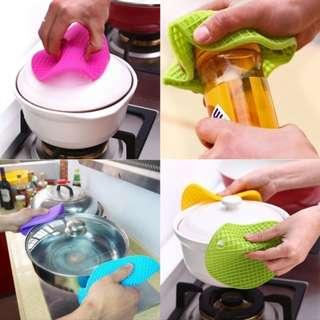 多功能矽膠圓墊/隔熱墊/廚墊/Heat Resistant Round Silicone Mat & Pad /Anti-slip Pot Coaster