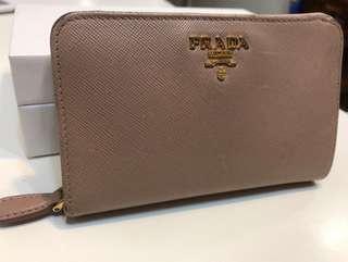 Used authentic Prada wallet