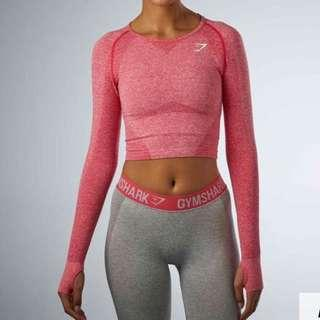 Gymshark cropped long sleeve