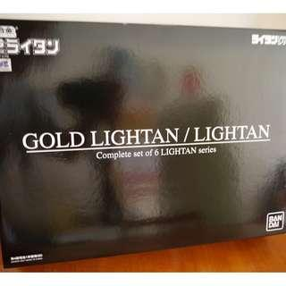 Bandai 超合金 Gold Lightan Complete Set Box開盒CHECK $2400