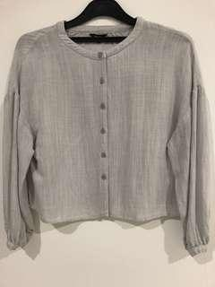Authentic Pomelo Light Grey loose top
