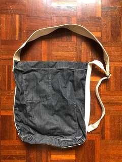 Alternative Country indigo denim shoulder bag 牛仔布袋