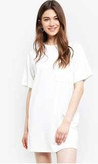 Back Detail Raglan Tee Dress (BN)
