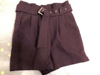 Purple high waisted pants