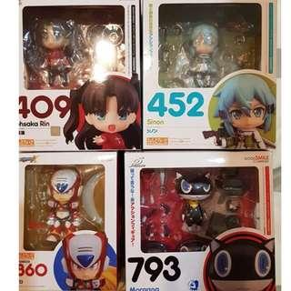 Nendoroid Rin, Sinon, Zero, Morgana