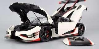 Autoart Koenigsegg One:1 (White) 1:18