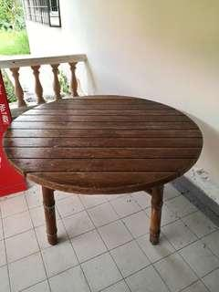Solid Wood Garden Table (McGuire San Francisco)