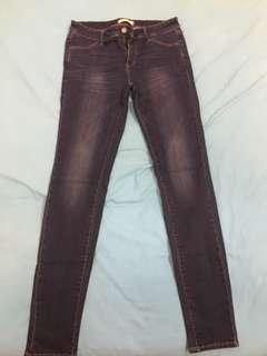 Dark wash women's jeans