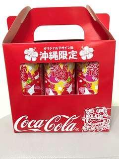 Coca-Cola 可口可樂沖繩限定版兩套