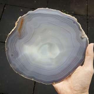 238mm Large Polished Agate Slab