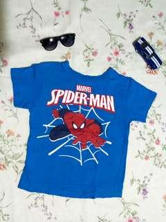 Spiderman Marvel Tshirt/ Size 6/ Seldom Used Only!👌 101%Authentic!
