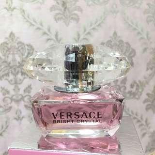專櫃正品 Versace 范思哲 Bright Crystal 噴式淡香水 50ml (專櫃正價:$660HKD) #sellfaster