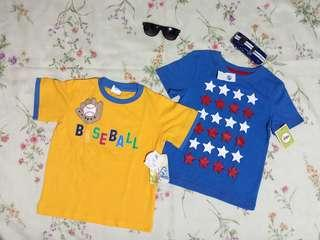 BRANDNEW! CIRCO &SOL PLAY 2 Pair of Authentic Shirts/4T & 5T/ Authentic Clothing