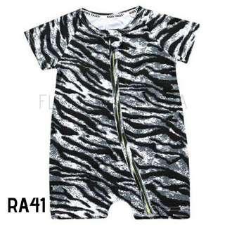 Rompersuit Zebra