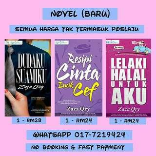 Novel (Penulis Zaza Qry)