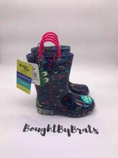 Western Chief Light Up Rain Boots Size 10 Toddler
