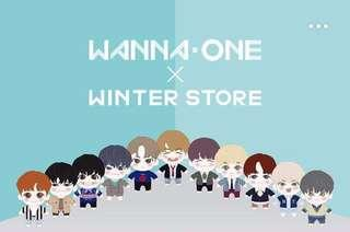 WANNA ONE WINTER STORE Official Goods