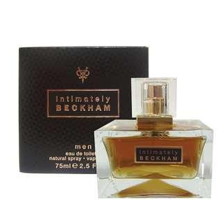 DAVID BECKHAM INTIMATELY BECKHAM PERFUME 75ml