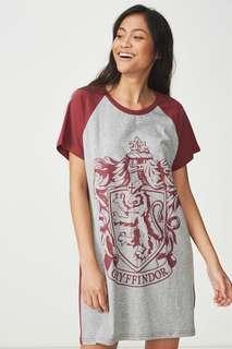 🚚 Typo Harry Potter Gryffindor Shirt Dress