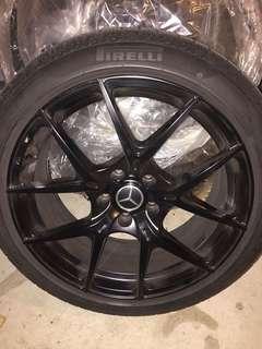 Pirelli winter tire+rim combo