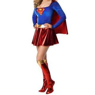 DC's Supergirl Cosplay Costume Suit
