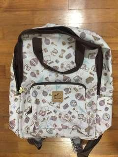 pastel theme backpack