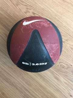 Nike medicine ball 8lbs
